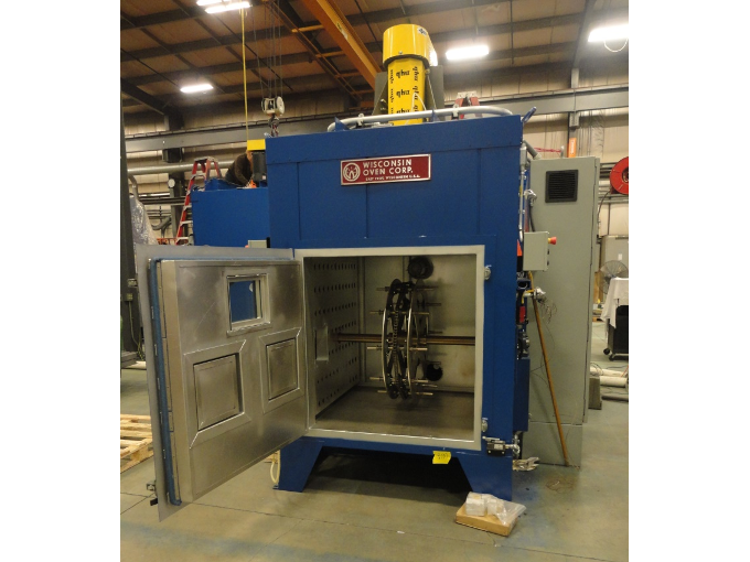 Rotary Spindle Curing Oven